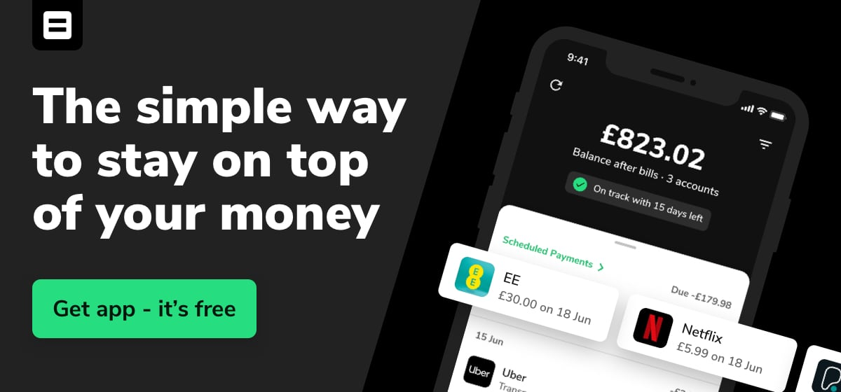 Sign up to Money Dashboard